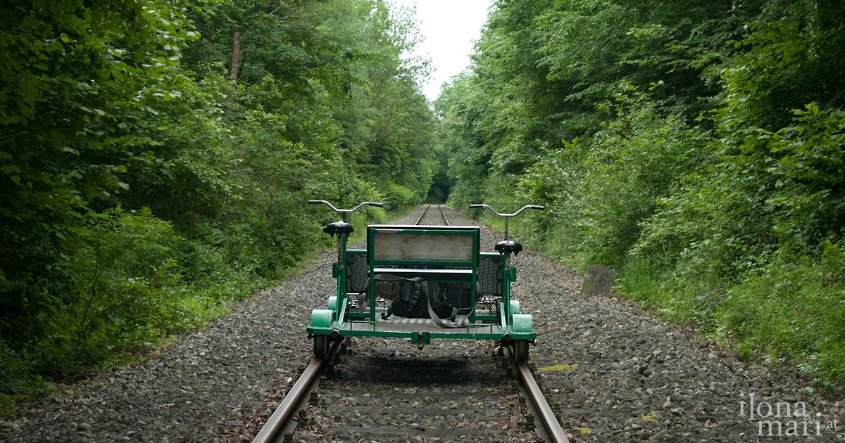 Auf Schienen durchs Mittelburgenland