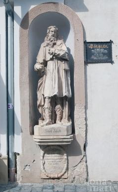 Baudenkmal auf dem Weg zur Altstadt von Güns