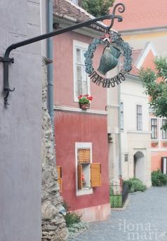 Weinschenke in der Altstadt von Güns.