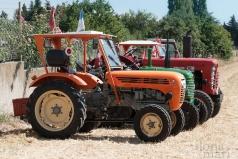 Traktor Treffen beim Dreschkirtag in Rechnitz