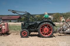 Hanomag Traktor beim Dreschkirtag in Rechnitz