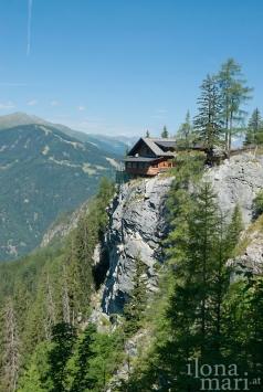 Berghütte in den Lienzer Dolomiten