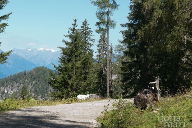 Wanderweg in den Lienzer Dolomiten