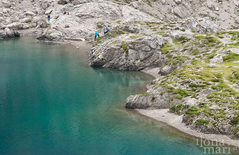 Gebirgssee in den Lienzer Dolomiten