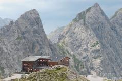 Karlsbader Hütte in den Lienzer Dolomiten