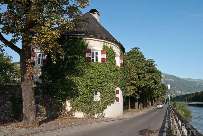 Turmstöckl an der Isel in Lienz.