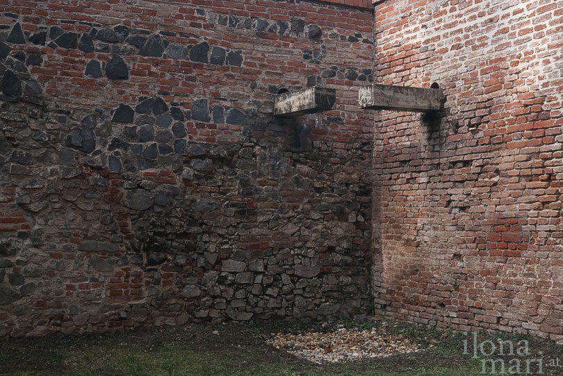 Befestigungsmauer des Schlosses Nádasdy in Sárvár