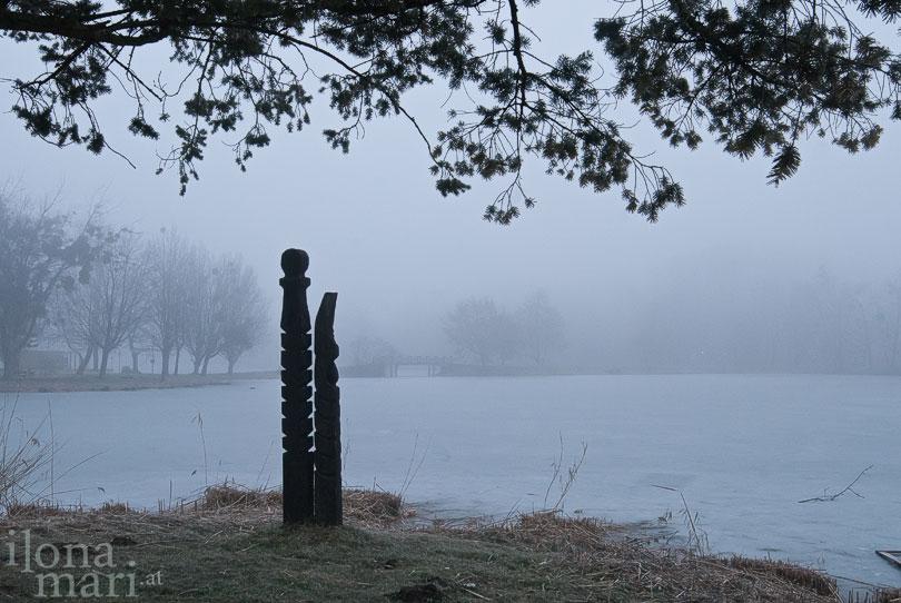 Heldengrab in der mystischen Teichlandschaft von Sárvár