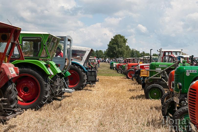 Traktorentreffen in Horitschon